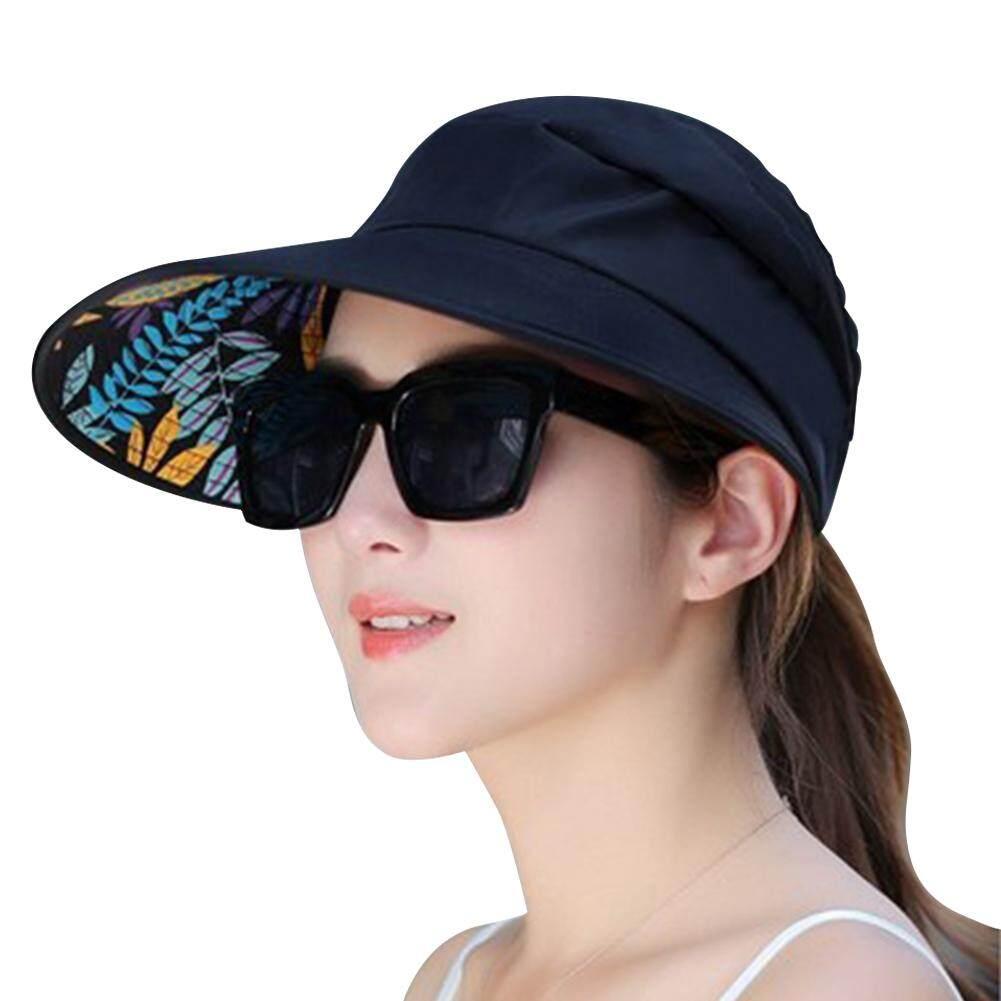 ff7444ea71ea64 ElecyFor Summer Floppy Hat For Women Big Wide Brim Sunscreen Caps, Foldable  Anti-UV
