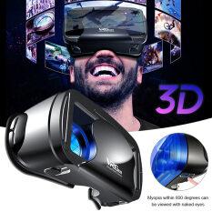 Kính Thực Tế Ảo VRG Pro 3D VR Góc Rộng 5 ~ 7 Inch, Hộp Kính VR Trực Quan Toàn Màn Hình, Dùng Cho Điện Thoại iPhone XiaoMi 120