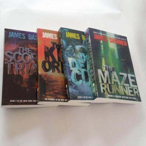 [Ready Stock]The Original English Version of The Text Maze Trilogy Full 4 books of The Maze Runner Series Books