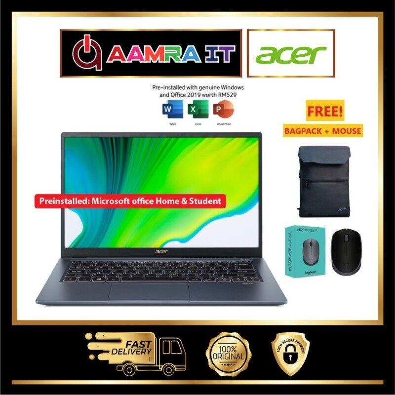 Acer Swift 3x SF314-510G-761J 14 FHD Laptop Steam Blue (I7-1165G7, 16GB, 512GB SSD, Iris Xe Max, W10, HS) Malaysia