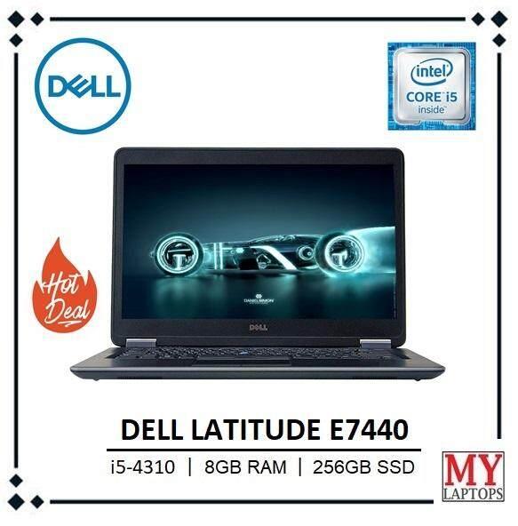 DELL LATITUDE E7440 / i5 4TH GEN (QUAD CORE) / 8GB DDR3 / 256GB SSD / WINDOWS 10 PRO / ULTRABOOK Malaysia