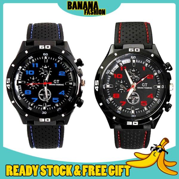 [HOTTEST WATCH] Original GT Grand Touring Racing Pilot Silicone Fashion Analog Sport Men Watch Jam Tangan Lelaki Malaysia