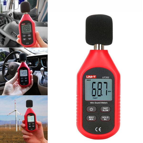 Decibel UT353 Noise Measuring Instrument db Meter 30~130dB Mini Audio Sound Level Meter