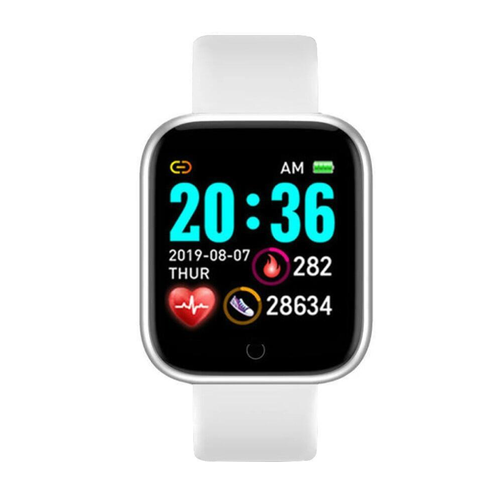 Đồng Hồ Thông Minh Bluetooth D20, Người Đàn Ông Không Thấm Nước Thể Thao Tập Thể Dục Tracker, Vòng Đeo Tay Thông Minh Máy Đo Nhịp Tim Huyết Áp Y68 Smartwatch