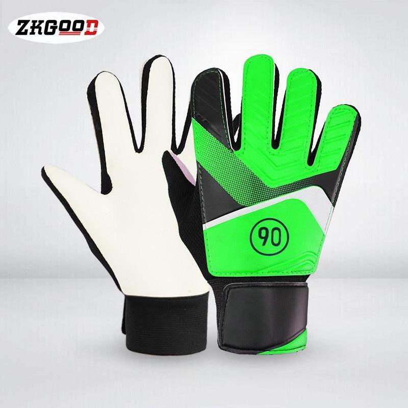 Zkgood 1 Pair Full Finger Gloves Children Teens Anti Slip Hands Wrap For Football Goalkeeper By Zkgood.