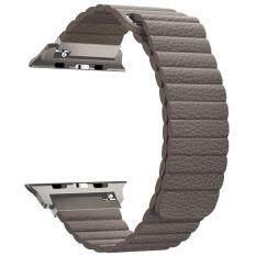 Dây đeo Đồng Hồ Apple Tương Thích với Dây Đồng Hồ 44mm và 40mm [Series 4] 42mm và 38mm [Series 3/Dòng 2/Dòng 1]], mạnh Đóng Từ Da Thật Thay Thế Starp Tương Thích cho IWatch