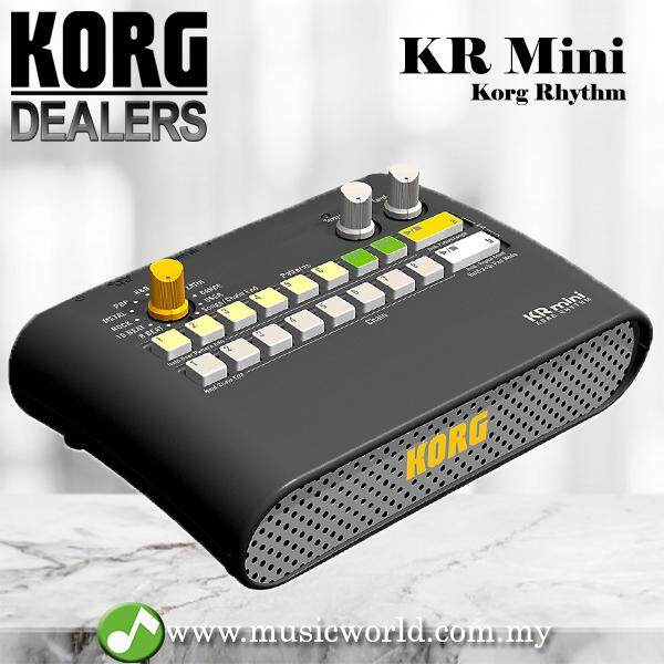 Korg Kr Mini Drum Rhythm Machine Performance Partner For Practice By Music World.