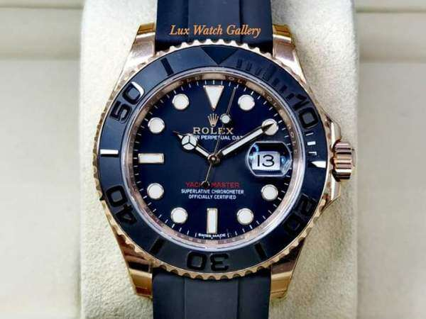 ROLEX_PERPERTUAL DATE YACHTMASTER FULLY AUTO 100% SAPPHIRE CRYSTAL Malaysia