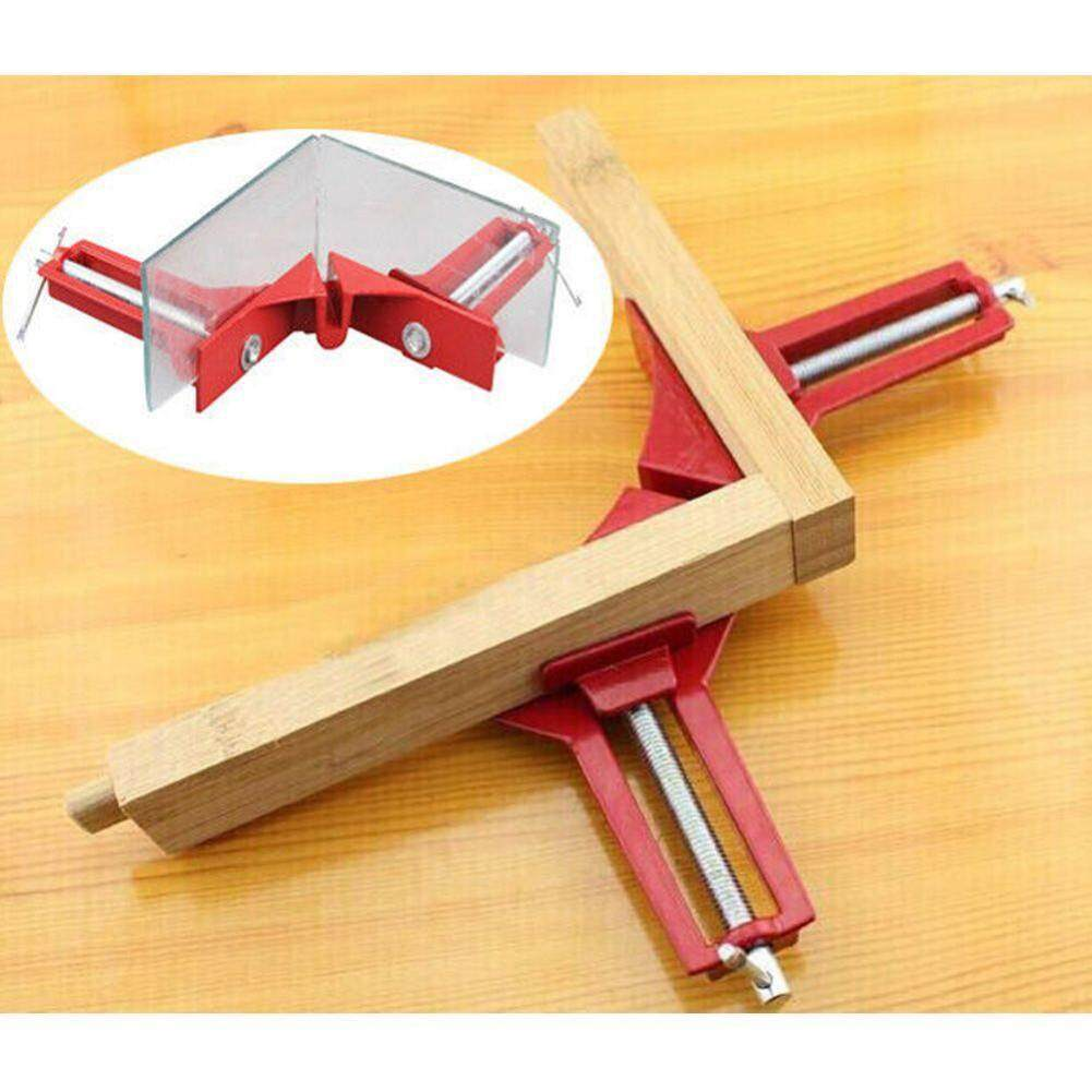 90 Degree Right Angle Clamp 100mm Mitre Clamps Corner Clamp Picture Holder(Red)