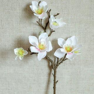 [Crystalwave] Hoa Mộc Lan Yulan Hoa Giống Như Thật Mô Phỏng Hoa Lan Hồ Điệp Hồng Đậm thumbnail