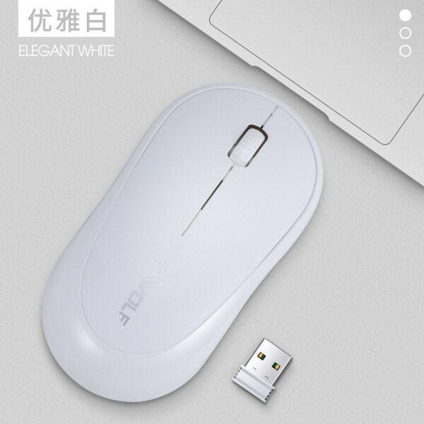 Tanpa Wayar 2.4Ghz Mouse Laptop Desktop Ultra-Nipis Malaysia