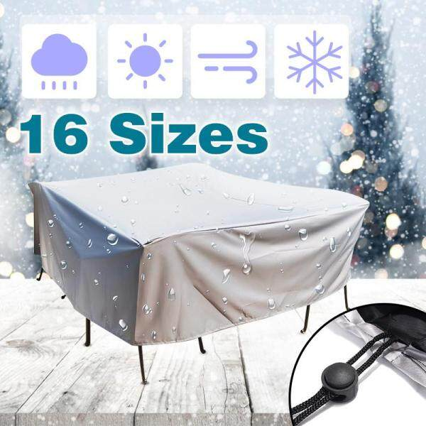 【Free Shipping + Flash Deal】16 Size Waterproof Outdoor Furniture Cover Chair Bench Patio Cover UV Protector