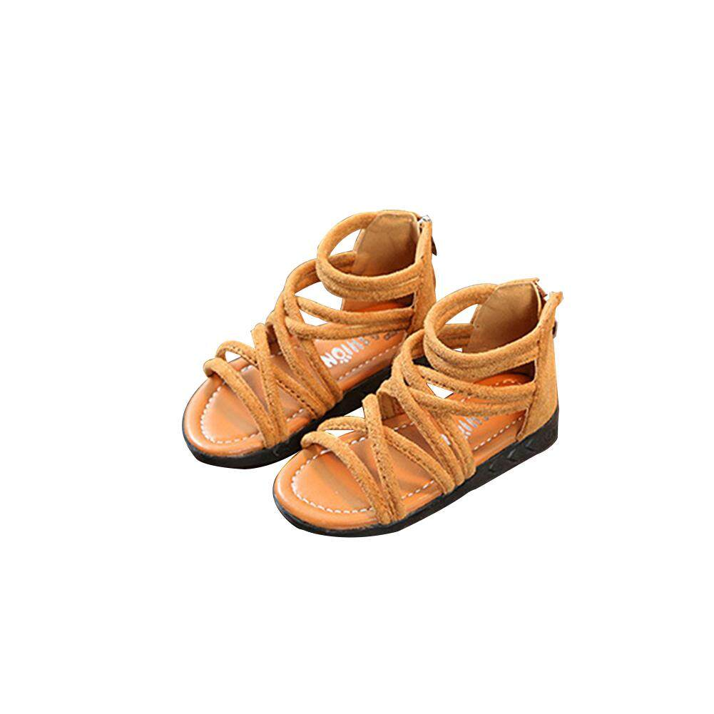 57a27019d Kids Baby Infant Girls Summer Casual Breathable Roman Boots Style Sandals  Sports Shoes