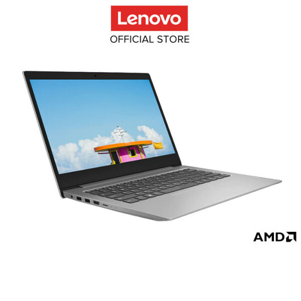 Lenovo Notebook Laptop ideapad Slim 1-14AST-05  Grey 81VS000QMJ 14HD/AMD A9-9420e/4GB/64GBeMMC/AMD Radeon R5/W10H/1YRWT Malaysia