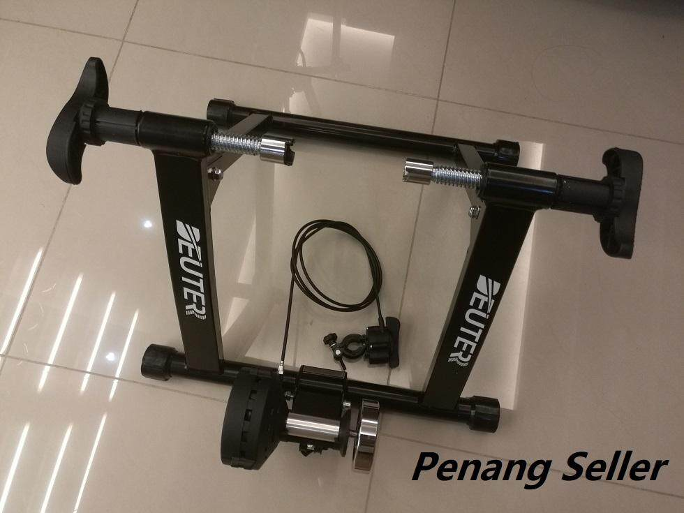 Bikers Maniac [Local Ready Stock] Cycling Bike MTB RB Folding Bike Trainer Remote Cable