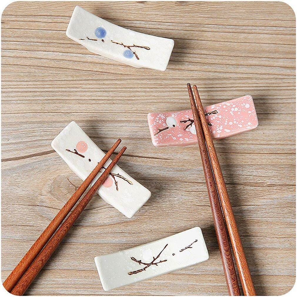 TỐT quả mận Nhật Bản gốm đũa giá đỡ