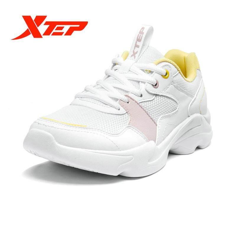 Giày Thể Thao Nữ XTEP 881218329089, Giày ĐÔI MÙA HÈ Nhẹ, Vải Lưới Thoáng Khí, Mang Thường Ngày giá rẻ