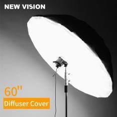 Đèn Chiếu Sáng Phản Chiếu Màu Trắng Đen 60 150Cm Studio Photogrphy Ô Vỏ Khuếch Tán (Vỏ Khuếch Tán, Chỉ)