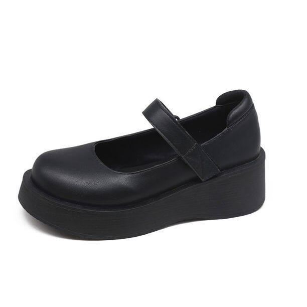 Giày Da Nhỏ GYD209 Giày Nữ Độc Thân Mary Jane Nhật Bản Mới 2020 Cho Nữ Giày Đồng Phục Học Sinh Cổ Điển Gót Dày Hoang Dã Phiên Bản Hàn Quốc giá rẻ