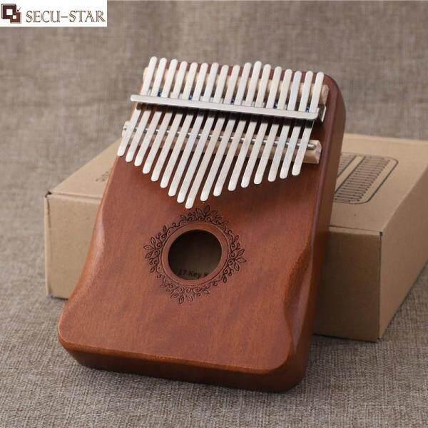 SECU-STAR Kalimba 17 Key Finger Piano Mahogany Piano Musical Instrument Beginner Thumb Piano Malaysia