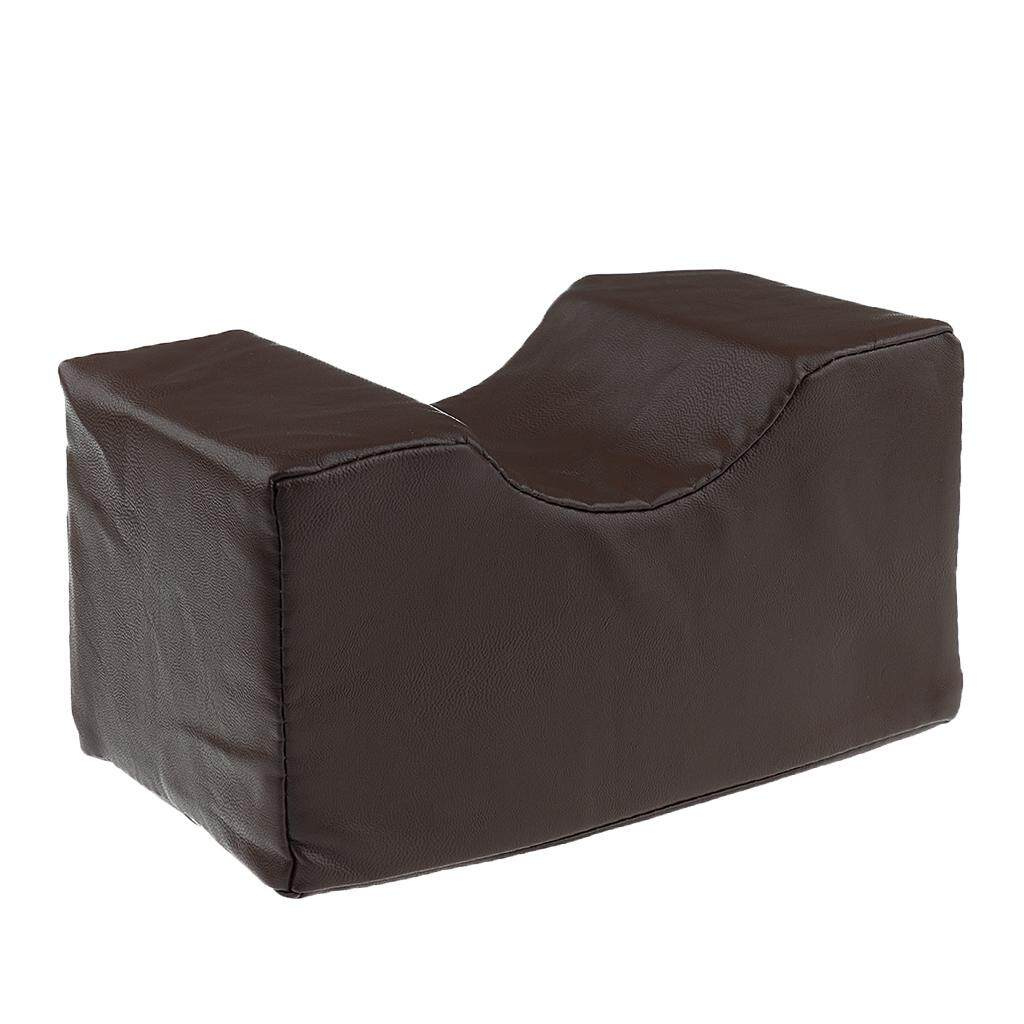 Foam Bed Wedge Pillow Elevation Cushion Lumbar Support Pain Relief Brown