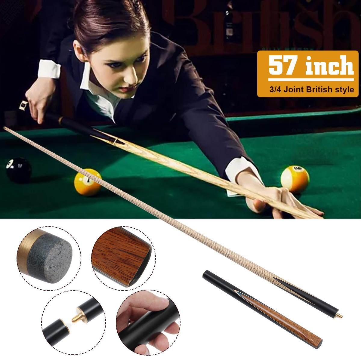 145cm 9.5mm small head 3/4 section billiard bar British snooker cue ash forefoot blackwood post