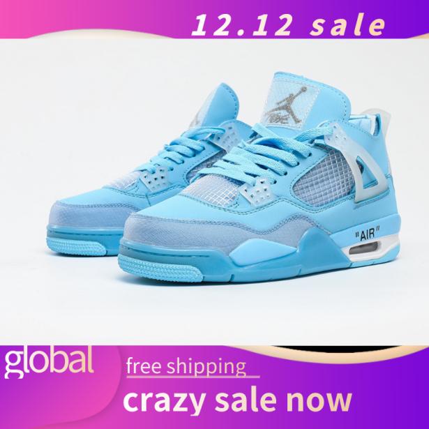 Giày Bóng Rổ AJ 4 Classic Đệm Hơi Da Lưới Cổ Điển Giày Thể Thao Giản Dị Top Bán Sneaker giá rẻ