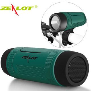 Loa Bluetooth 5.0 Zealot S1, Radio Fm Chống Nước, Dùng Ngoài Trời, Gắn Cột Xe Đạp Di Động Không Dây, Hộp Xoay Tròn + Đèn Pin + Giá Treo Xe Đạp thumbnail