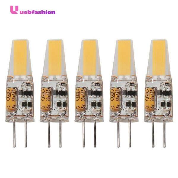 G4 Bóng Đèn LED COB Silicone 1505-3 W/2508-5 W AC/DC 12V Pha Lê ánh sáng Đèn Chùm