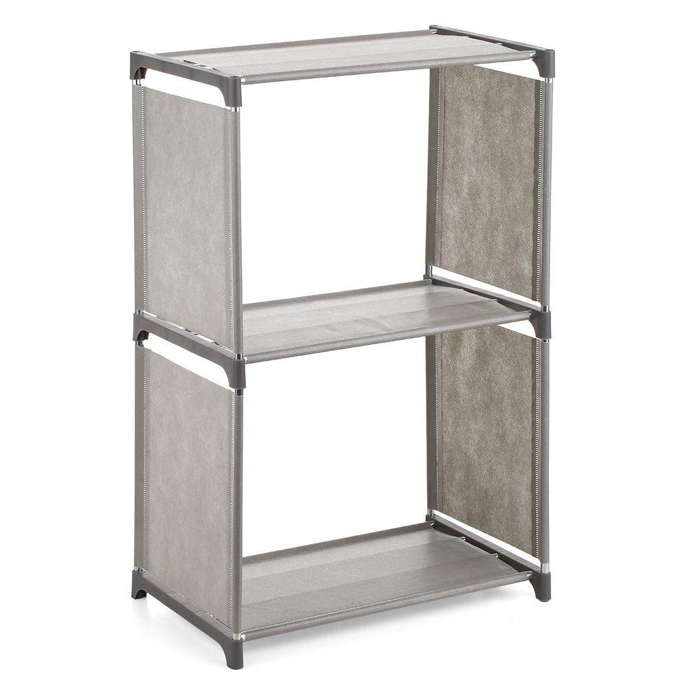 3-Shelf Bookcase Book Shelves Bookshelf Storage Bin Books Display Shelving Unit Organizer By Haitao.