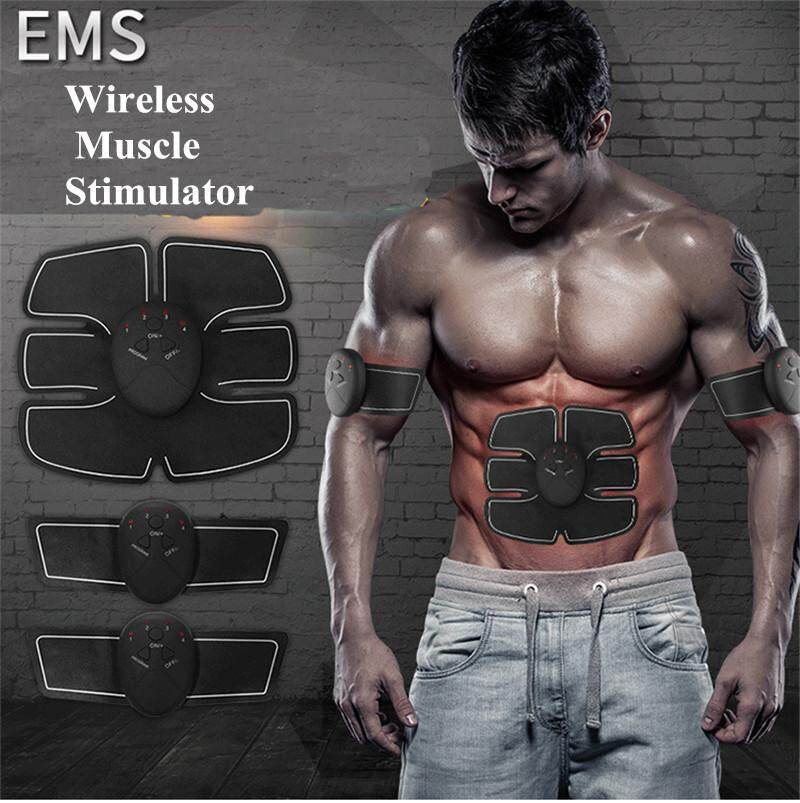 Ab Rollers Ems Smart Hips Muscle Trainer Sticker Body Sculpting Massager Stimulator Pad Gym Fitness Buttocks Training Apparatus Save 50-70%
