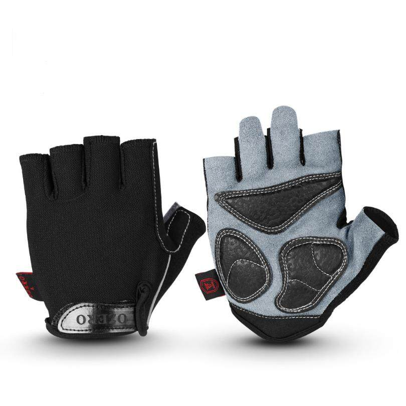Fitness gloves half finger outdoor sports weightlifting riding men and women wear-resistant anti-slip