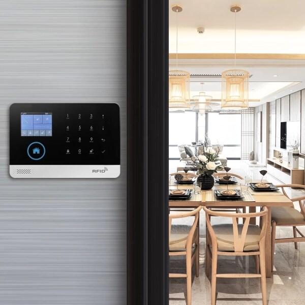 PG103 Alarm System for Home Burglar Security 433MHz WiFi GSM Alarm Wireless Tuya Smart House App Control