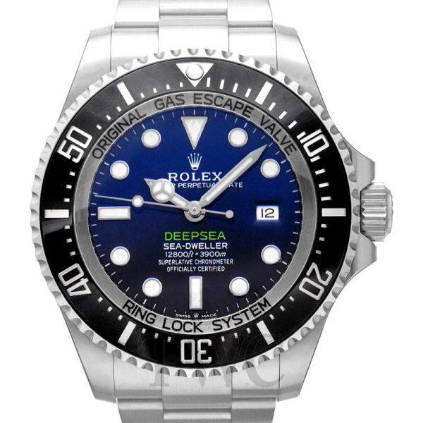 Ròlex Sea Dweller Rolex Deepsea D-Blue Dial Automatic Mens Stainless Steel Oyster Watch Malaysia