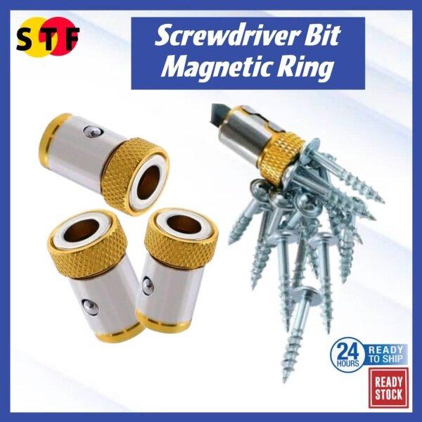For Screwdriver Bit Magnetic Ring Gold Color Magnet Driver S2 Alloy Steel For Screwdriver Bit Magnetic Ring Gold Color