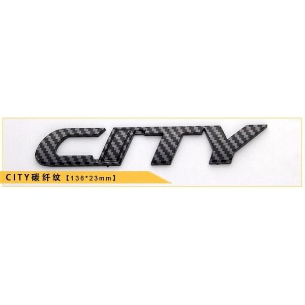 Biểu Tượng Chữ Thành Phố, Logo Sợi Carbon, Cho Huy Hiệu Cốp Sau Honda Miếng Dán Thân Xe