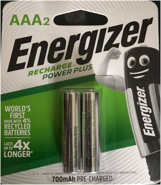 Energizer  AAA Rechargeable Batteries (2Pcs) Malaysia