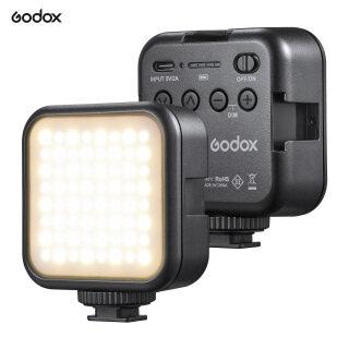 Godox Đèn Video LED Nhiệt Độ Hai Màu LED6Bi, Đèn Nạp Mini Có Thể Sạc Lại Hỗ Trợ Điều Chỉnh Độ Sáng 3200K-6500K Hấp Phụ Từ Tính Với 3 Đế Gắn Giày Lạnh Để Phát Trực Tiếp thumbnail