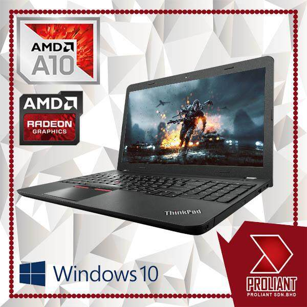 LENOVO THINKPAD E555 SUPERDUTY GAMING [ AMD A10 PRO QUAD CORE 4GB RAM/ 500GB HDD/ AMD RADEON/ W10PRO ] 1 YEAR WARRANTY Malaysia
