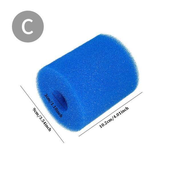 HLDB 3 sizes pool filter cleaning equipment foam reusable washable sponge cartridge foam