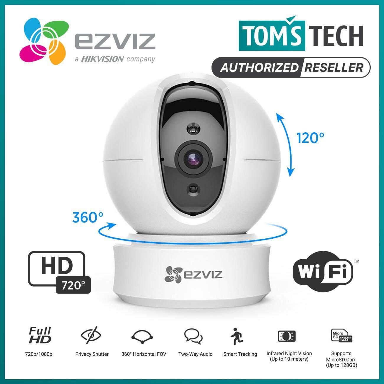 Ezviz C6C / C6CN EZ360 720P 360° Pan Tilt WiFi Wireless Network IP Security  CCTV Camera CS-CV246 - Tomstech