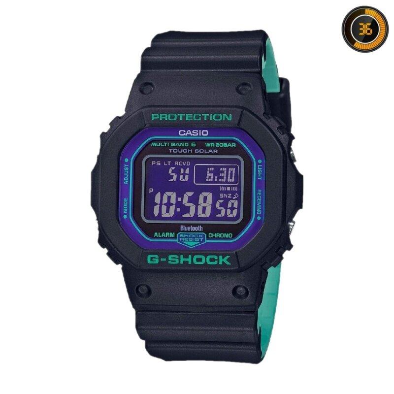 NEW Casio G-shock Watch Joker Petak GW-B5600BL-1D Tough Solar GW-B5600 / GWB5600BL Marco18 months warranty Malaysia