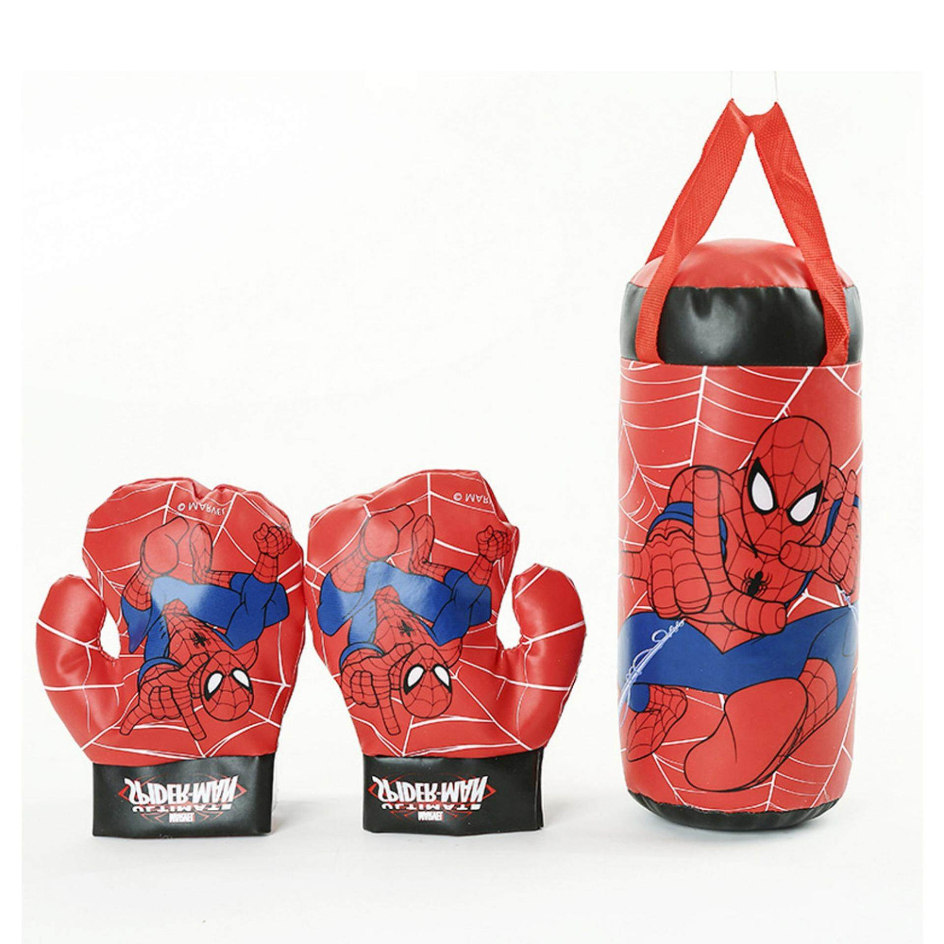 Children Boxing Sandbag With 1 Pair Boxing Gloves Ogm002 By Smart.mall.
