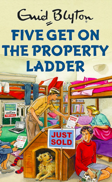 Five Get On The Property Ladder by Bruno Vincent | Enid Blyton for grown ups Malaysia