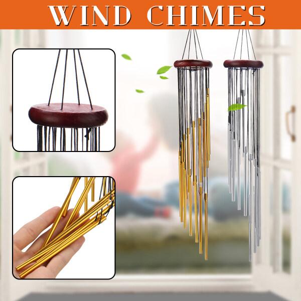 Chuông Gió Sân Vườn Ngoài Trời Chuông Windbells Charm Treo Trang Trí Nội Thất Windchime Trang Trí Ống