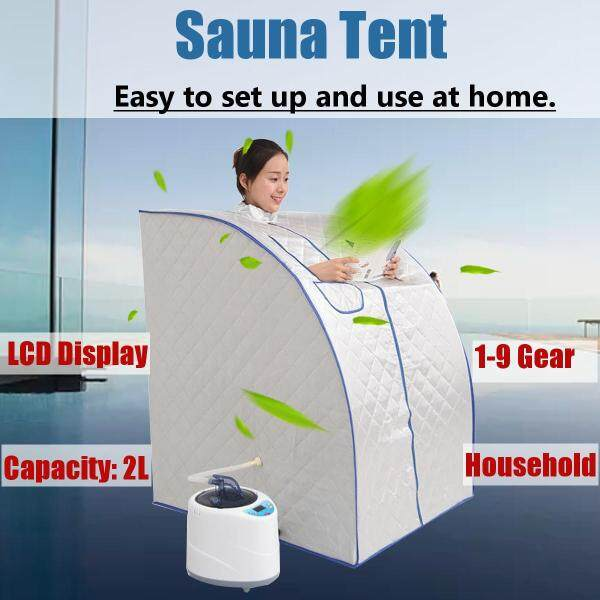 Buy 2L EU Plug 220V Portable Household Steam Sauna Room Tent Weight Loss Full Body Bath Spa Relaxes Singapore