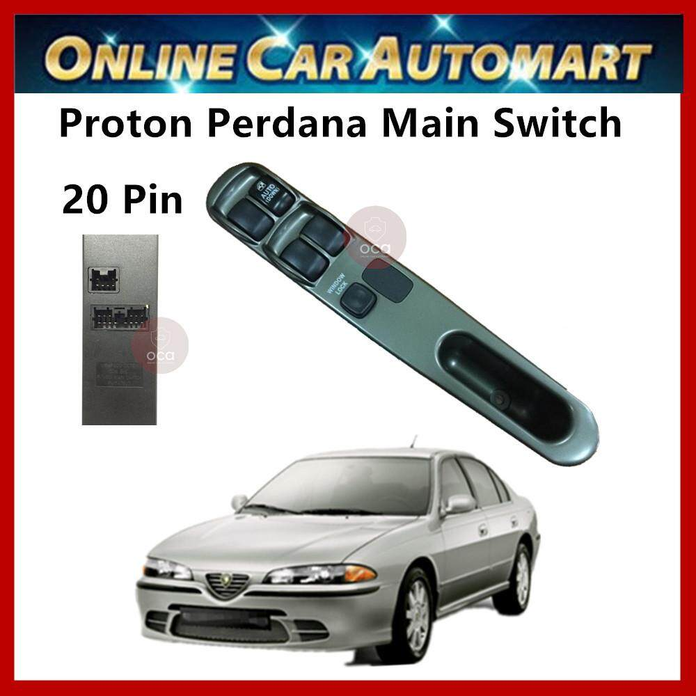 Power Window Switch for Proton Perdana V6 (Main Switch)