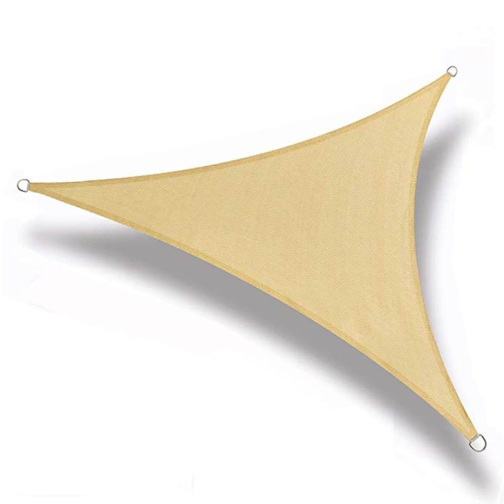 Quick Drying Triangle Waterproof Outdoor Hiking Garden Camping Portable Shade Canopy