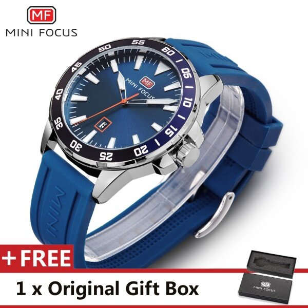 MINIFOCUS MINI FOCUS MF0020G Top Luxury Brand Watch For Man Fashion Sports Men Quartz Watches Trend Wristwatch Gift For Male jam tangan lelaki Malaysia