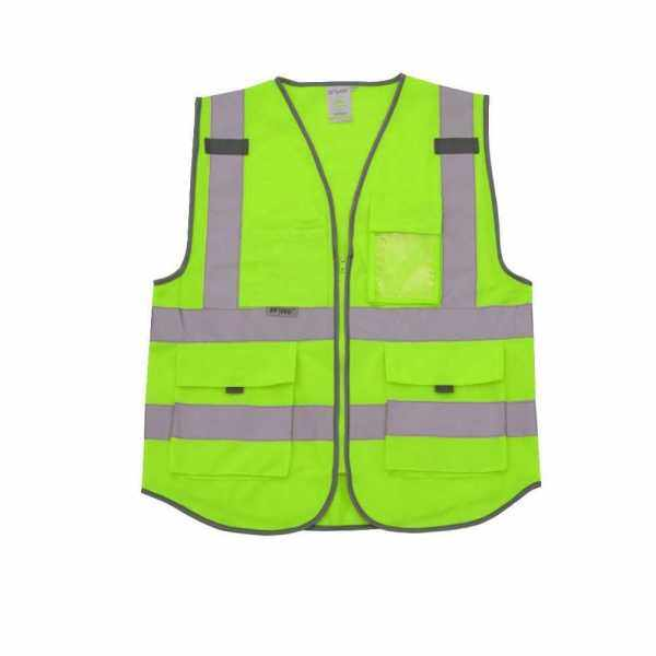 SFVest High Visibility Reflective Safety Vest (Green)